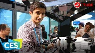 CES Asia 2017: самые необычные дроны