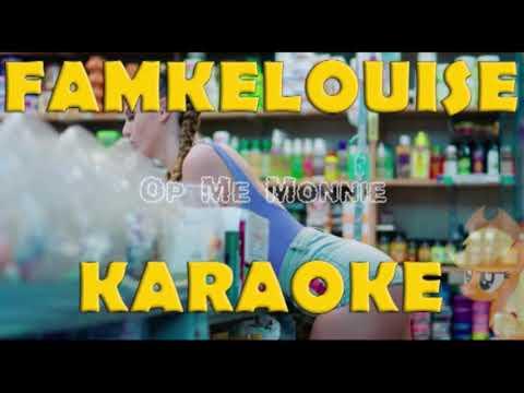 Famkelouise - Op Me Monnie [ Karaoke Versie ] - Instrumentaal + MP3