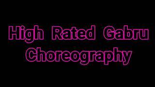 High Rated Gabru Dance Choreography