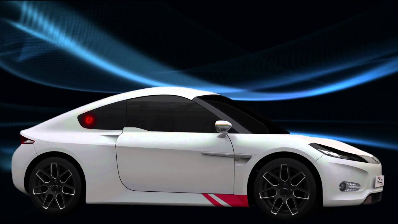 Mahindra Reva Halo Electric Sports Car Youtube