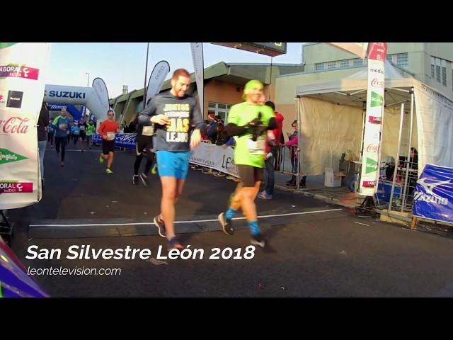Meta 10Km. San Silvestre León 2018