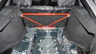 видео Устройство задней подвески ВАЗ 2109 и ее тюнинг