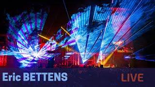 Eric Bettens Live  à Ciney. Sons et Lumières, laser et feux d'artifice.