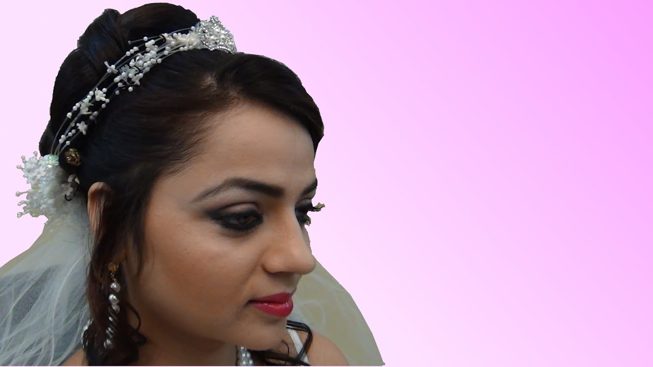 indian bridal makeup - christian bride - youtube