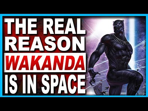 Black Panther | The Truth About The Intergalactic Empire Of Wakanda!