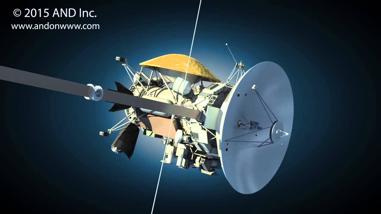 Cassini Huygens Saturn orbiter - 2015 Space Series by AND ...
