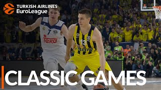 Classic Games, 2017 Semifinal: Fenerbahce Dogus Istanbul-Real Madrid