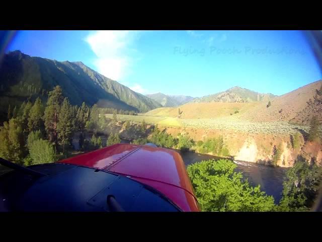 Thomas Creek, ID - 2U8 - Approach and Landing ( Idaho backountry ) HD