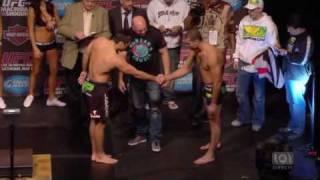 UFC 113 Machida vs Shogun 2 Weigh ins 3/3(HQ)