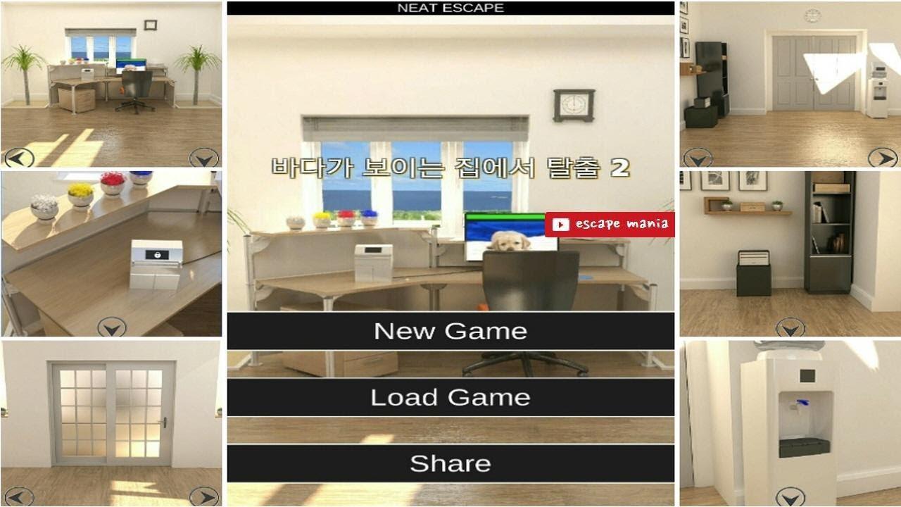 Escape game sea house 2 walkthrough neat escape youtube for Minimalist house escape 2 walkthrough