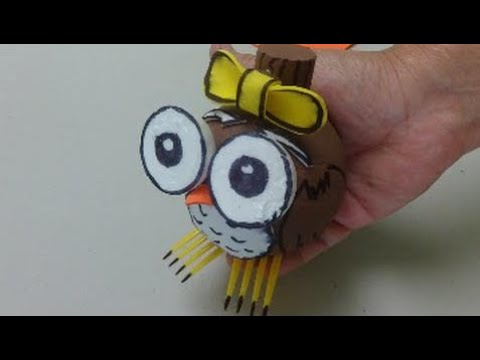 Diy Crafts Ideas Cute Plastic Bottle Owl Best Out Of Waste