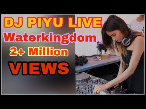 Dj Piyu Live Mixing At Water Kingdom ( Full Live Video )