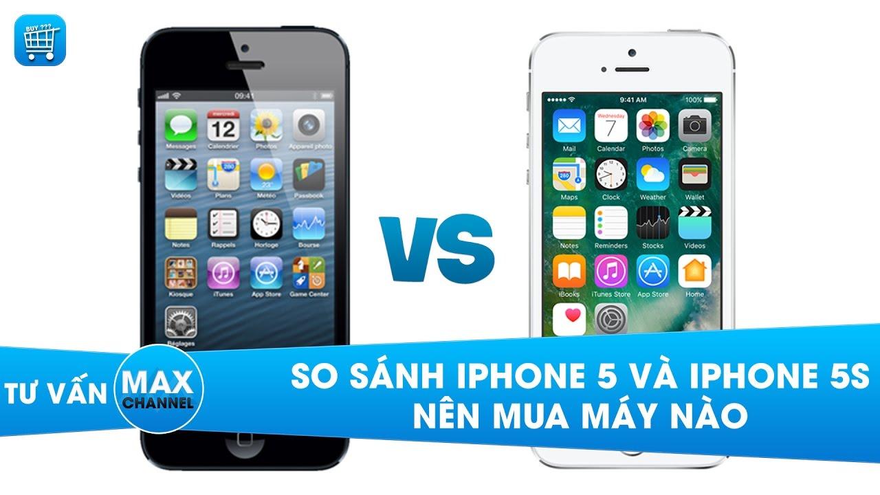 iPhone 5 và 5S: So sánh, đánh giá – nên mua điện thoại nào?