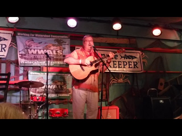 Scott Perkins, Waters of the Suwannee bring me home, 2019 Suwannee Riverkeeper Songwriting Contest