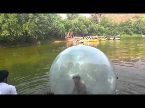Ball water sport at New Delhi