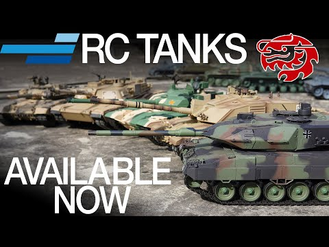 Heng Long RC Tanks Available Now! - Motion RC