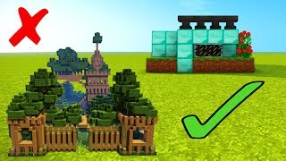 MINECRAFT NOOB VS PRO - DIRT EDITION!!! Dirt Castle and Dirt House