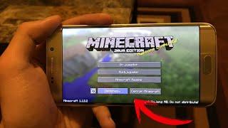 Como Descargar Minecraft Java Edition en Android | Sin Errores! 100% Funcional