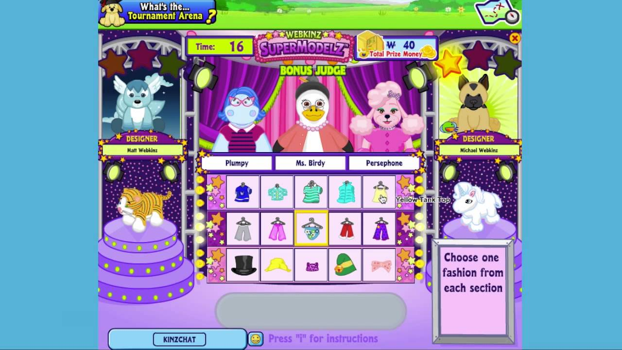 play webkinz games images