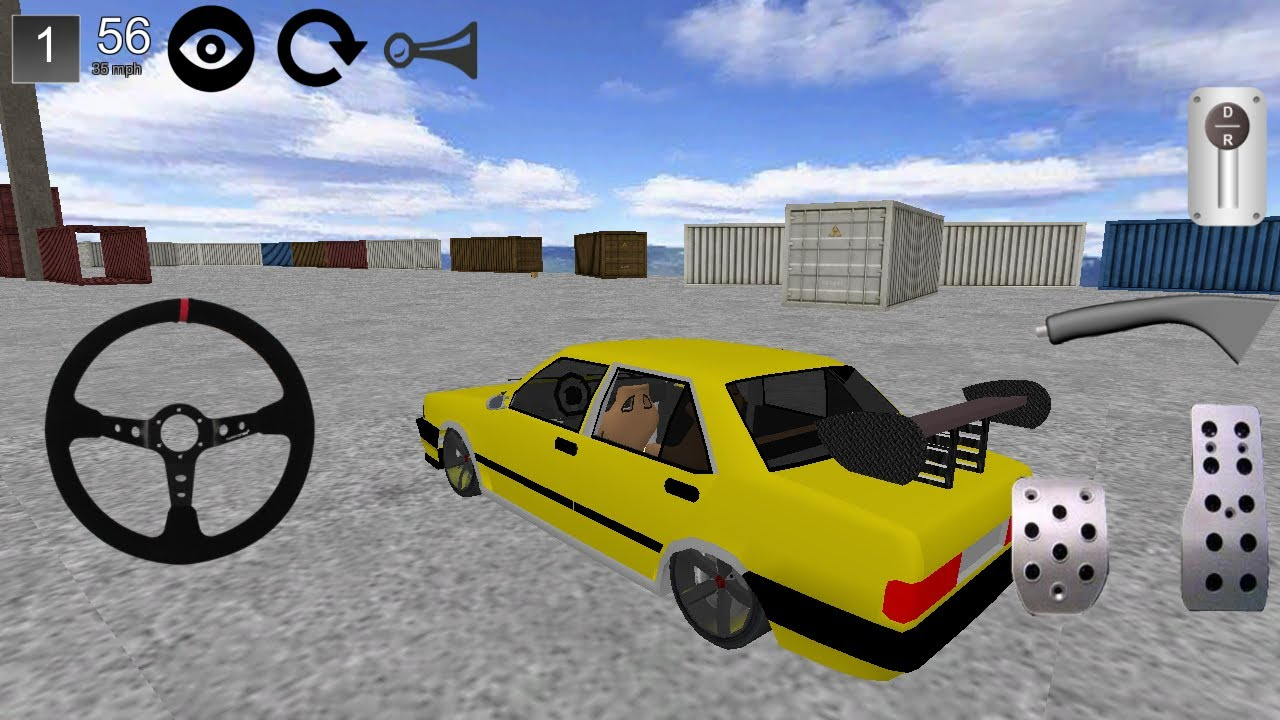 Tofaş şahin Drift Oyunu 3d 2014 Full Android Apk Download Youtube