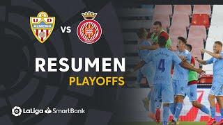 Resumen de UD Almería vs Girona FC (1-2)