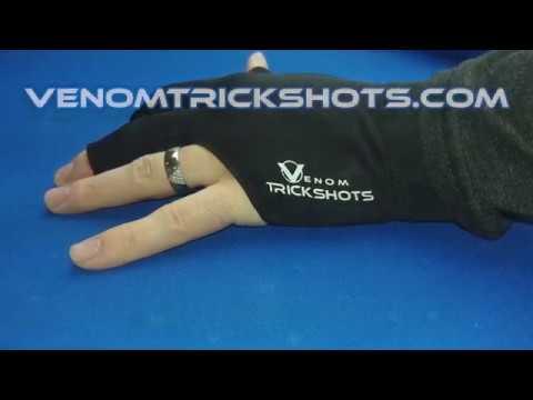 Venom Trick Shot Billiard Glove