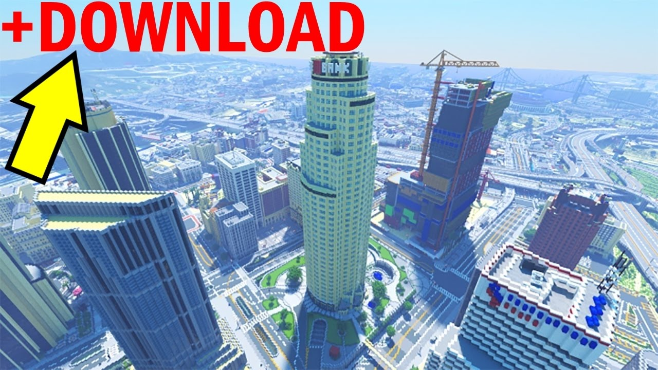 Grand Theft Auto 5 in Minecraft. The end? - YouTube