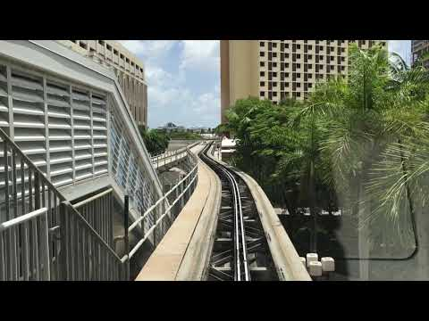 Downtown Miami in the Metromover
