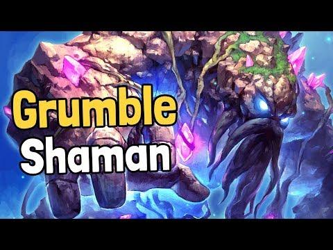 Grumble Elemental Shaman Decksperiment - Hearthstone