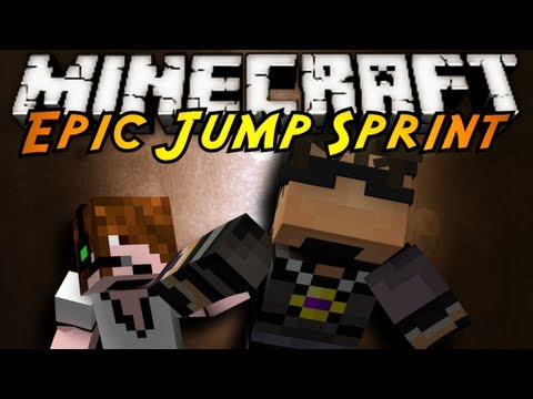 Minecraft: Epic Jump Map SPRINT!