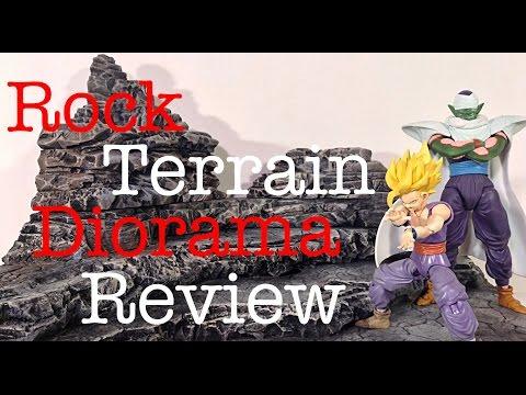 Custom Rock Terrain Diorama Dio Review By Lawless Studios Dragon Ball Z Diorama Dio