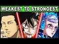 Every Black Bull RANKED from Weakest to Strongest! (Black Clover)