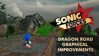 Sonic Forces - Dragon Road Graphical Improvements