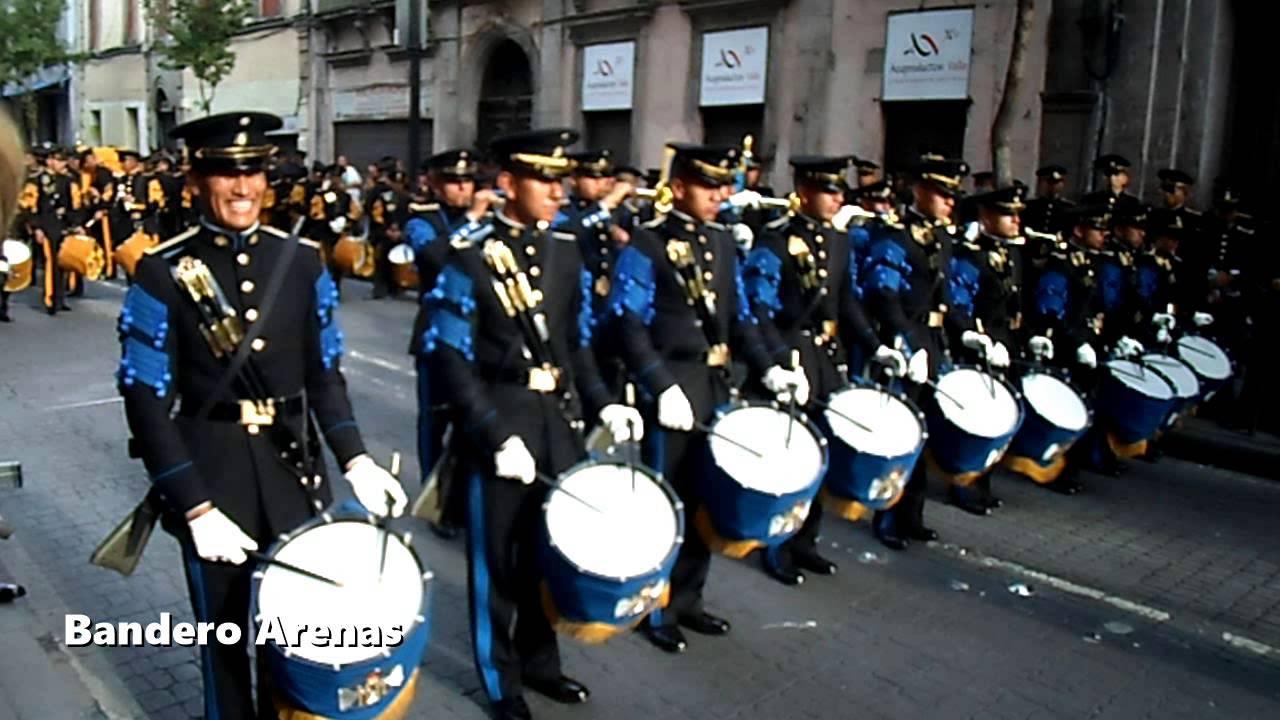 Banda De Guerra Escuela Militar De Ingenieros Youtube