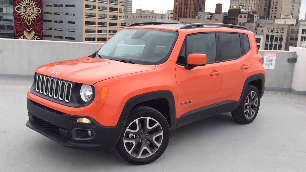 Jeep Renegade 4x4 >> 2016 Jeep Renegade Latitude - YouTube
