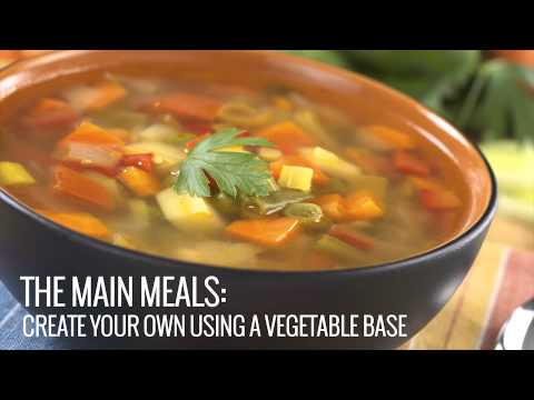How to make tasty and healthy vegetable soup at home