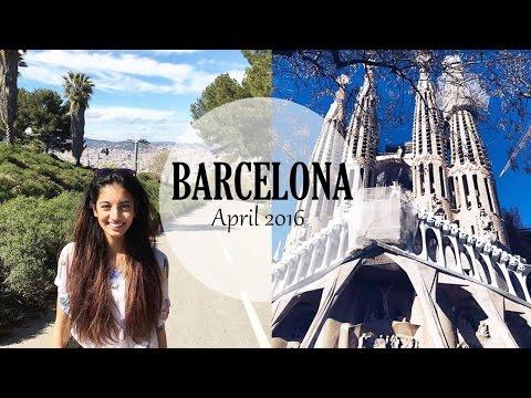 TRAVEL VLOG: Barcelona 2016 | F&S