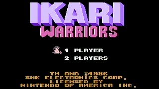 Ikari Warriors - NES Gameplay