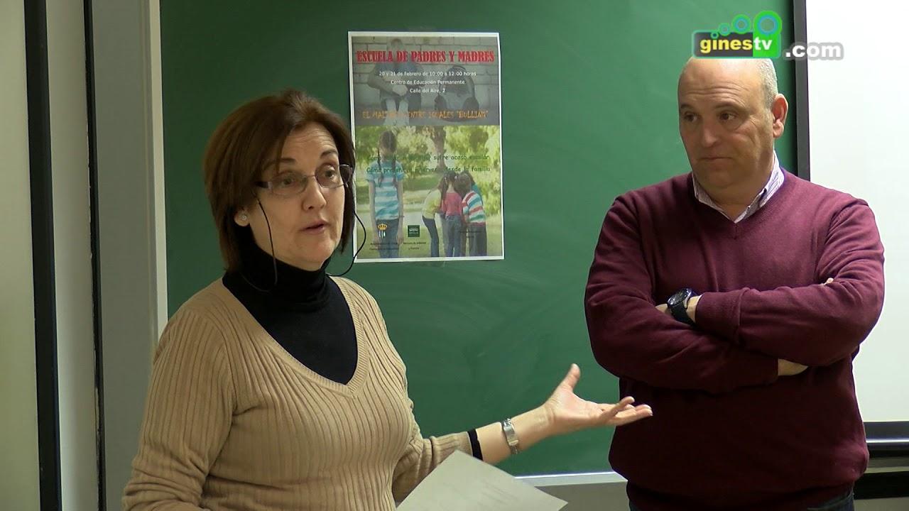 El 'Bullying', tema central de la Escuela de Padres y Madres de Gines, que continúa este miércoles