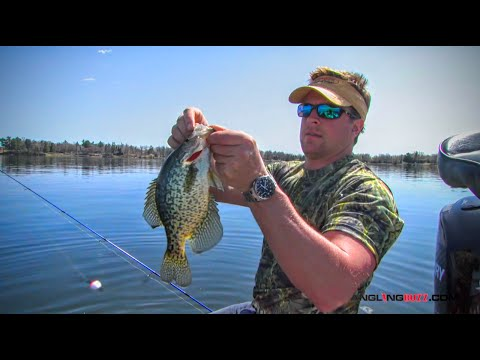 Crappie Location Vs. Weather And Water Temperature