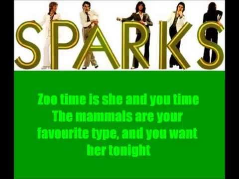 Sparks - This Town Ain't Big Enough For Both of Us (lyrics)