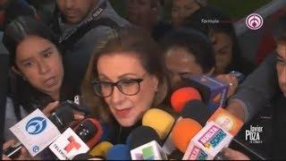 Familiares y amigos se despiden de Edith González