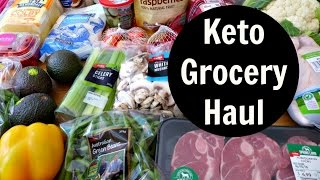 Keto Diet Grocery Haul 2017 - Coles Australia Food Haul - Low Carb Weight Loss