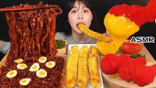 ASMR MUKBANG| 직접 만든 치토스 양념치킨 먹…