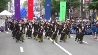 2012・6・9 よさこいソーラン SUGA IZANAI連 一番街会場