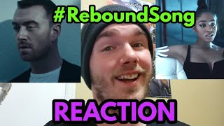 Reacting to Sam Smith, Normani - Dancing With A Stranger - #ReboundSong Video
