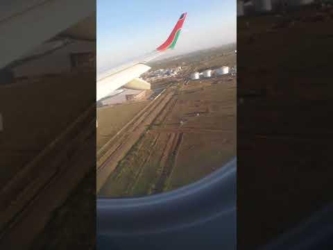 Dangerous Landing Nairobi (Kenya) airport