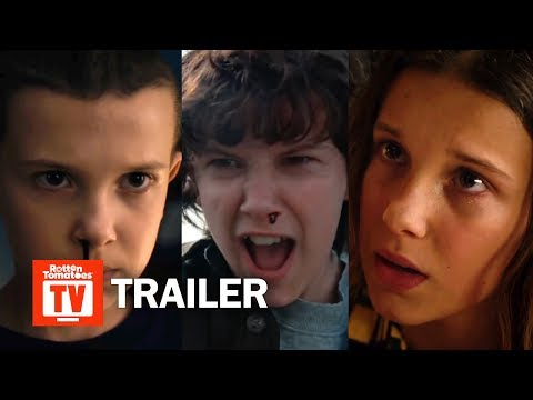 Stranger Things ALL Trailers Season 1-3 | Rotten Tomatoes TV