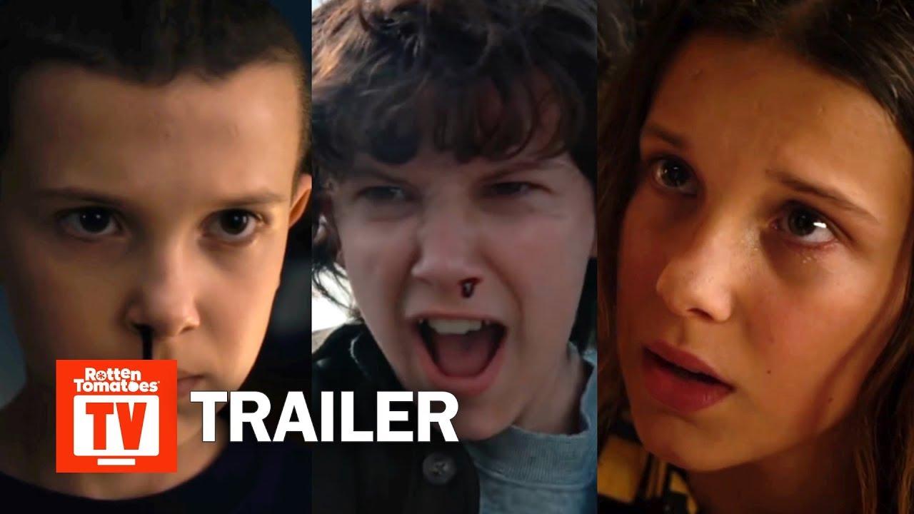 Stranger Things ALL Trailers Season 1-3   Rotten Tomatoes TV