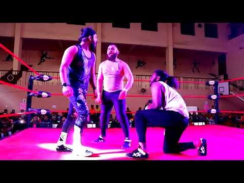 RWE | Prateek V/S Ben Jack V/S  Mighty King  Triple Threat match Zero Round 19 jan 19 jhansi